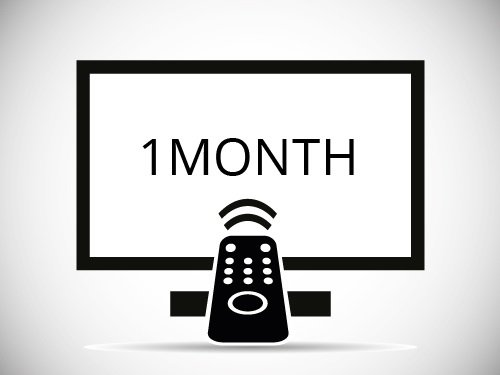 1 Month IPTV Subscription